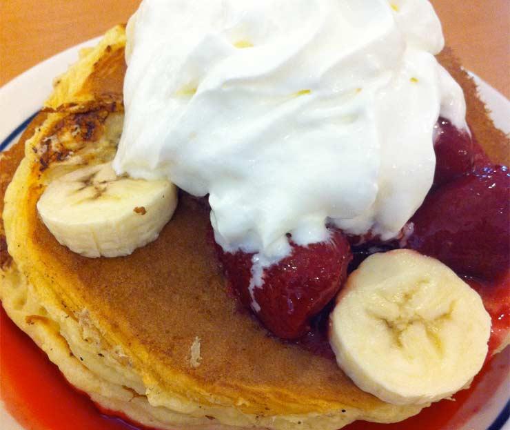 アメリカ iHopのパンケーキ