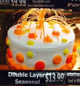 アメリカの不細工なケーキ