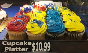 カラフル過ぎるカップケーキ