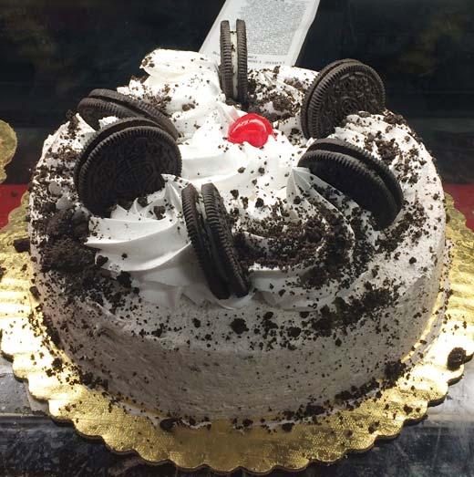 オレオのケーキ