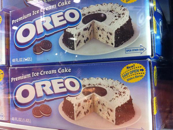 アメリカのOREO(オレオ)、アイスクリームバージョン