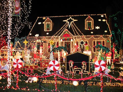 やり過ぎクリスマスイルミネーション