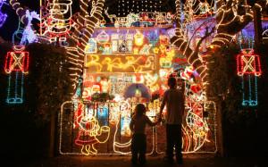 派手やり過ぎクリスマスライト