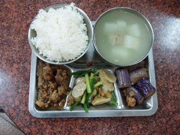 世界の給食(台湾)