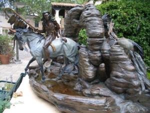 セドナの像