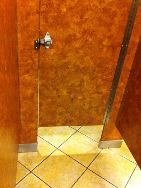 アメリカの女子トイレ