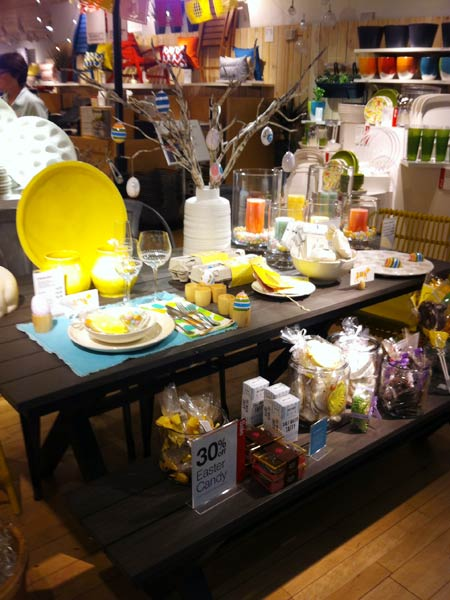 Crate and Barrel イースターセール