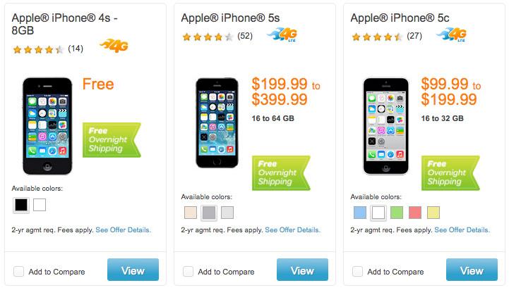 AT&T iPhone5s, iPhone5c