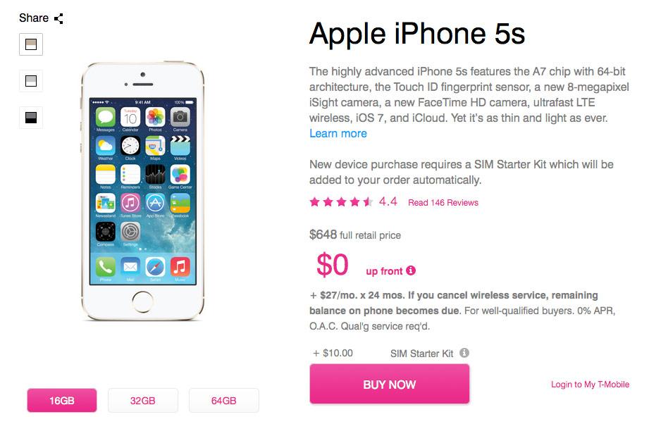 iPhone5s, iPhone5c