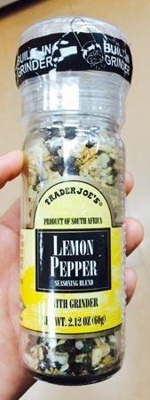 トレーダージョーズのレモンペッパー
