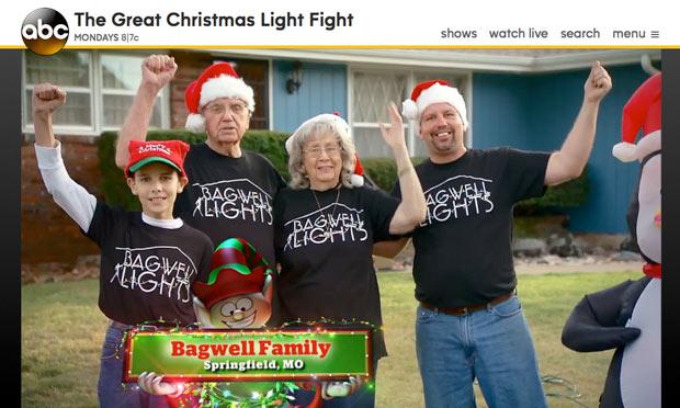 クリスマスライトに命を掛ける人々(笑)01