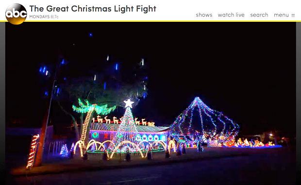 クリスマスライトに命を掛ける人々(笑)05