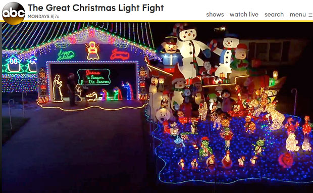 クリスマスライトに命を掛ける人々(笑)04