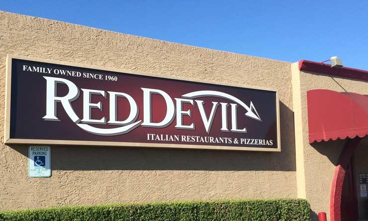 アリゾナの美味しいイタリアン&ピザレストラン Red Devil