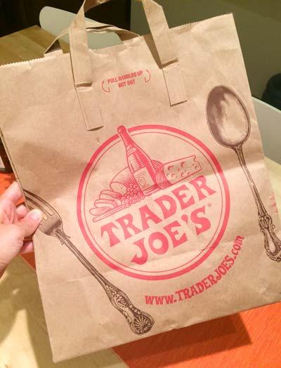 トレーダージョーズの紙バッグ