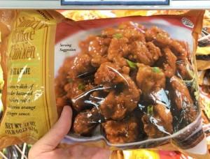 トレーダージョーズのおすすめ冷凍食品(オレンジチキン)