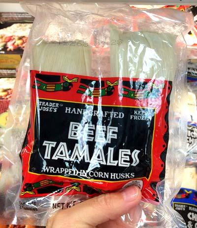 トレーダージョーズのおすすめ冷凍食品(タマレ)