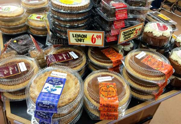 トレーダージョーズの焼き菓子やスイーツ類