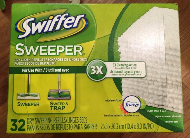 アメリカ版クイックルワイパーのSwiffer® Sweeper