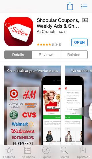 アメリカのお得なクーポンアプリを使って節約!!