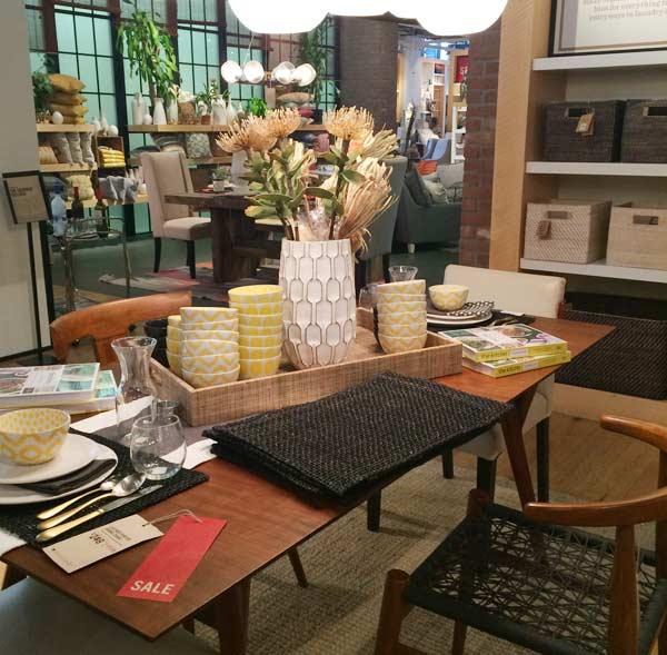 アメリカのオシャレな家具、インテリア、雑貨屋さん