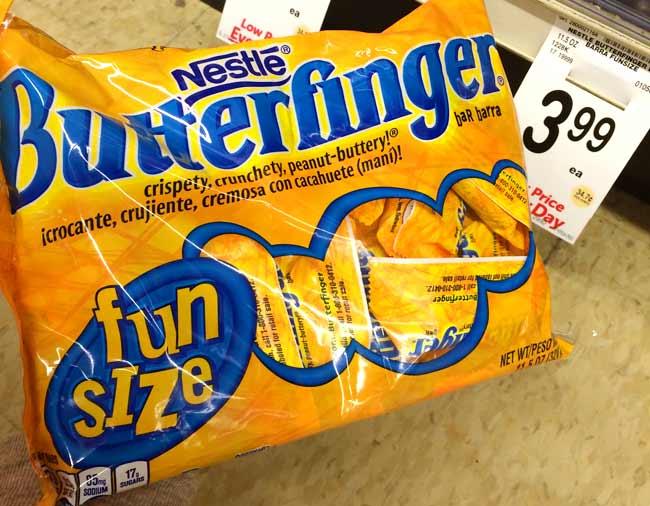 アメリカのスーパーで買えるお土産ランキング!第5位はバターフィンガー