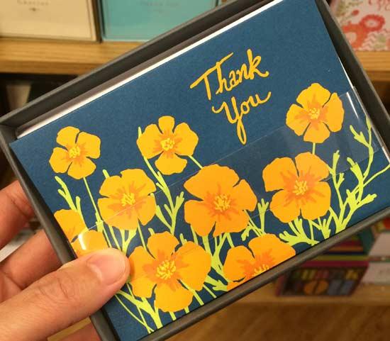 オシャレでかわいいサンキューカード