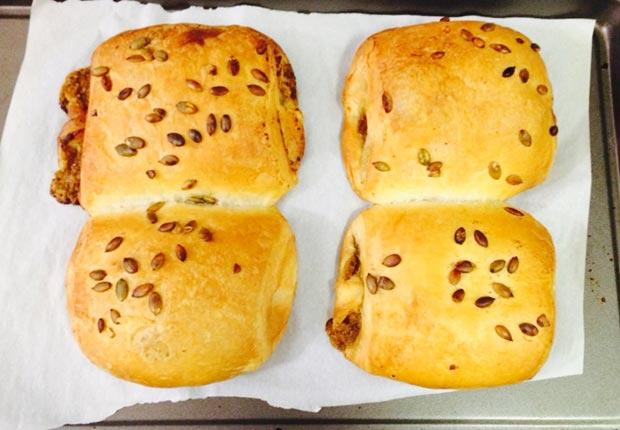 trader joes 4pumpkin croissants