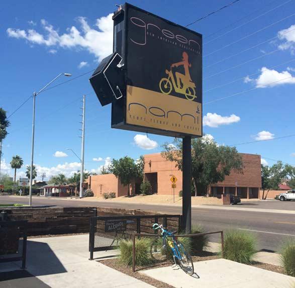 アリゾナPhoenixにあるビーガン向けカフェレストラン Green