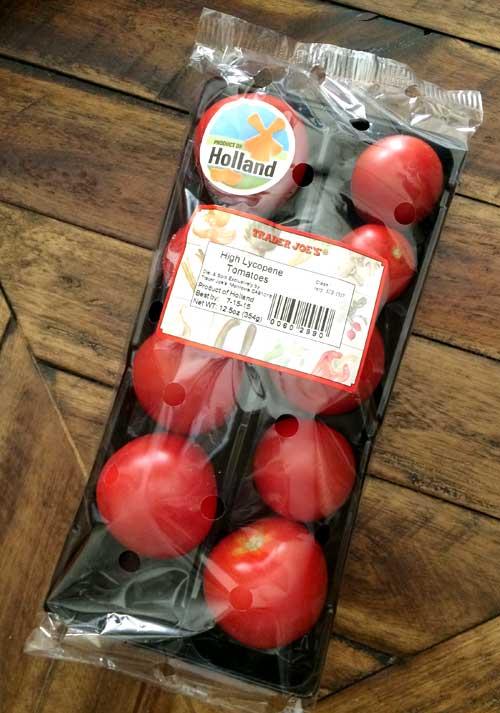 トレジョの「High-Lycopene-tomatoes」