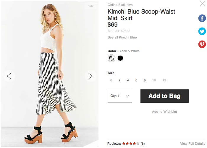 Urban Outfitters kimchi ロングスカート