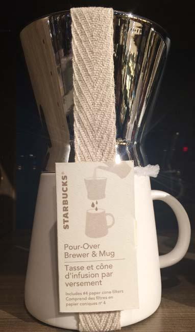 ドリップ式コーヒーを作る器具を、英語では「Pour Over」と言います。