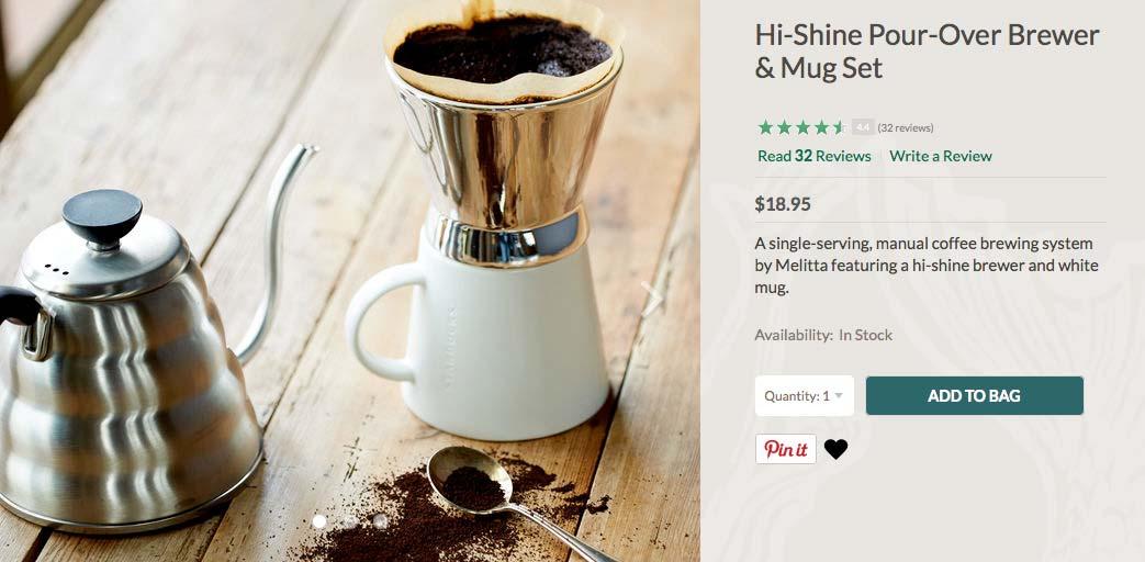 Pour-over(ドリップ式コーヒーを作る器具)