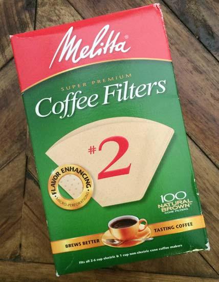 アメリカのコーヒーフィルター