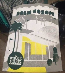 ホールフーズの Palm Desert エコバック