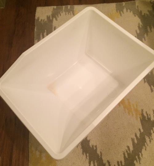 腰湯マッサージに使った道具