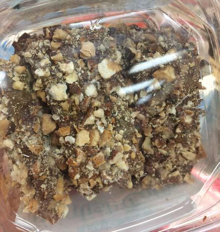 トレーダージョーズのお菓子(チョコレート、トフィー)拡大