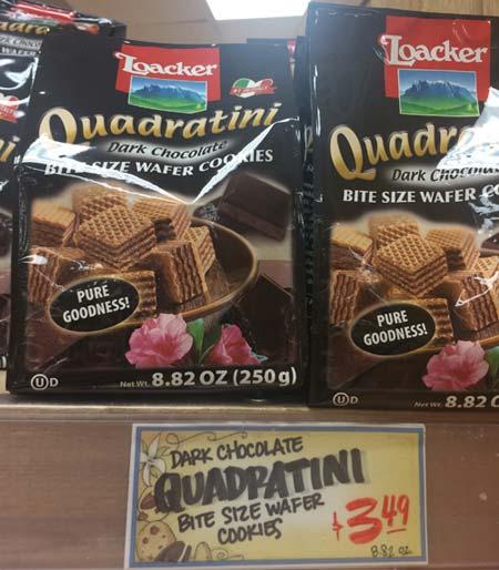トレーダージョーズのお菓子(チョコレートクッキー)