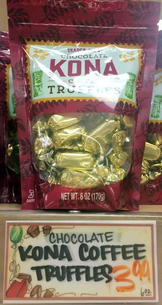 トレーダージョーズのお菓子(チョコレート)