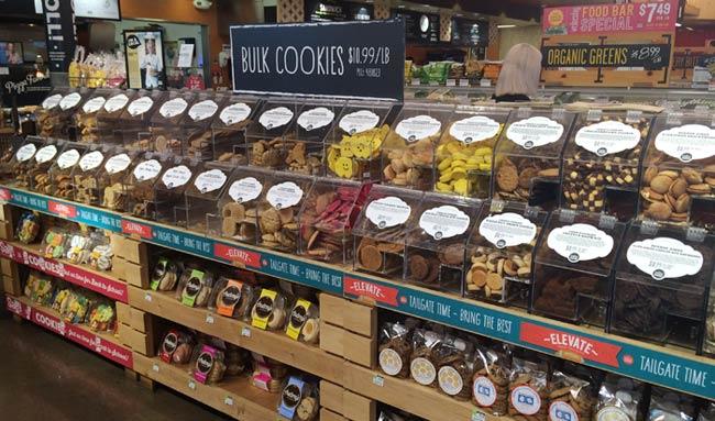 ホールフーズのクッキー(量り売り)