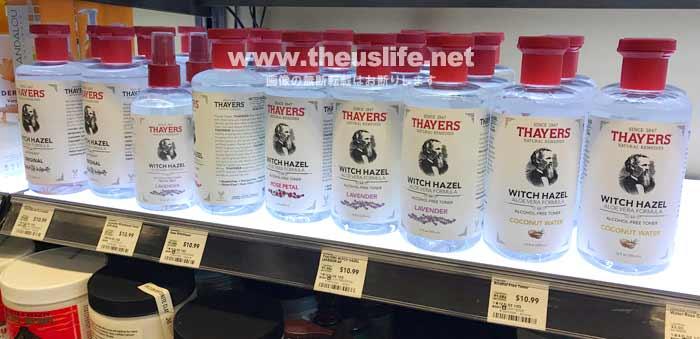 ホールフーズマーケットのThayers(セイヤーズ)化粧水