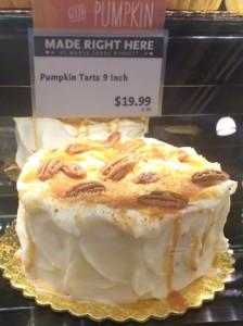 Wholefoodsのパンプキンケーキ