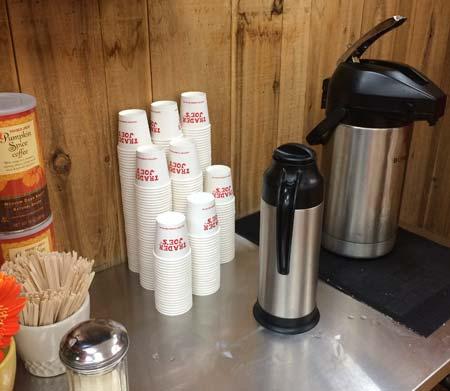 トレーダージョーズのパンプキンスパイスコーヒー(サンプル)