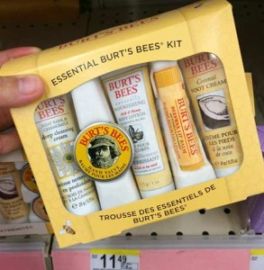 Burts Bees のお土産