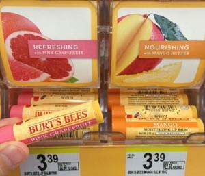 Burts Bees のリップ