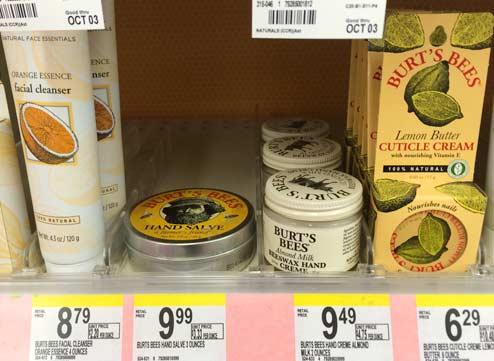 Burts Bees の大人気ハンドクリーム