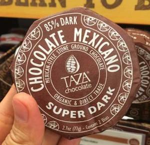 ホールフーズのチョコレート