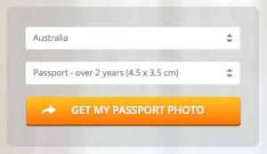オーストラリアのパスポート用写真サイズ