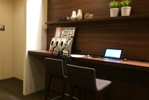 羽田空港内にあるホテル、ファーストキャビンのホテル内