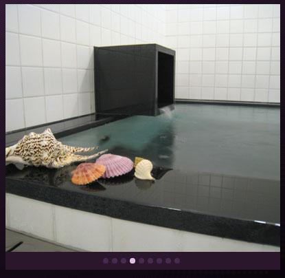 羽田空港内にあるホテル、ファーストキャビンのホテル内大浴場